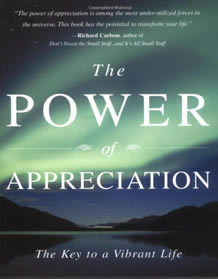 power of appreciation book cover